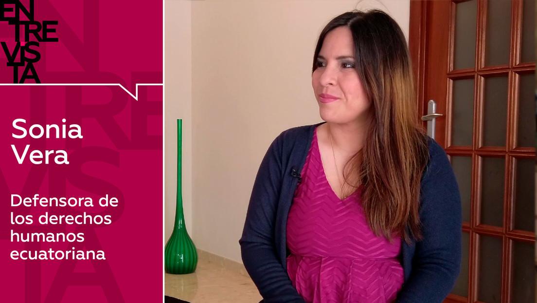 2020-09-07 - Sonia Vera, defensora de derechos humanos ecuatoriana: