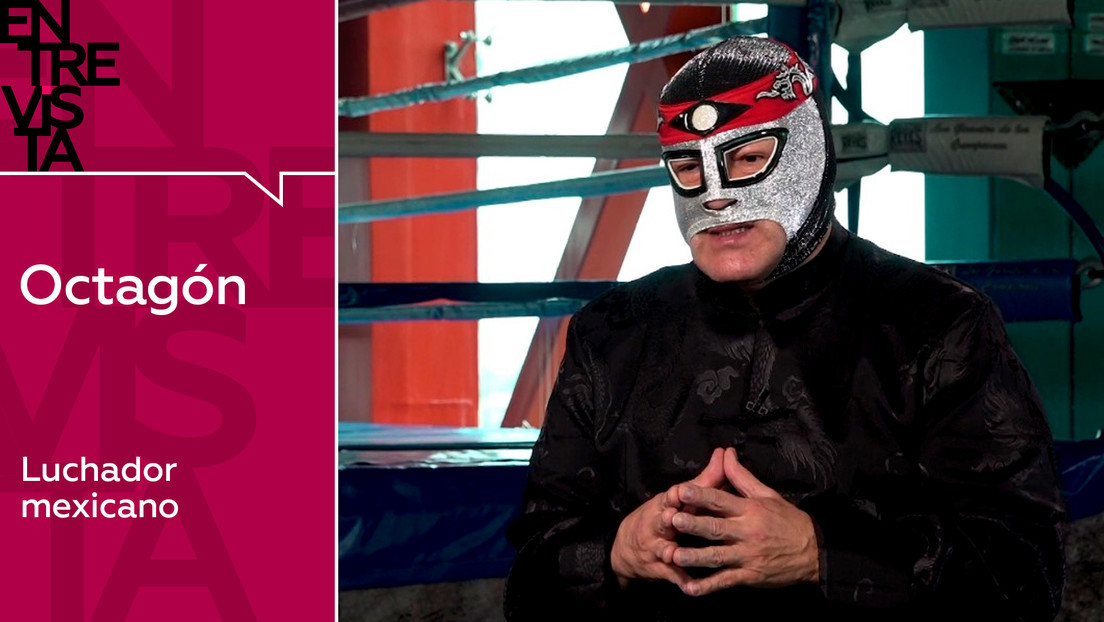 2020-10-20 - Octagón, luchador mexicano:
