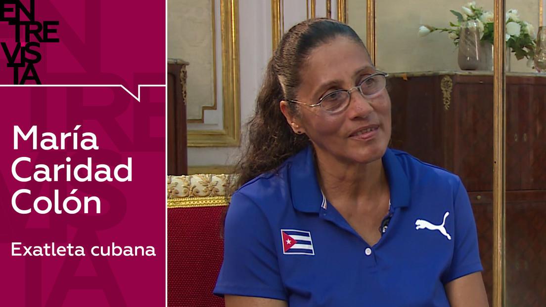 2020-10-31 - Exatleta cubana María Caridad Colón:
