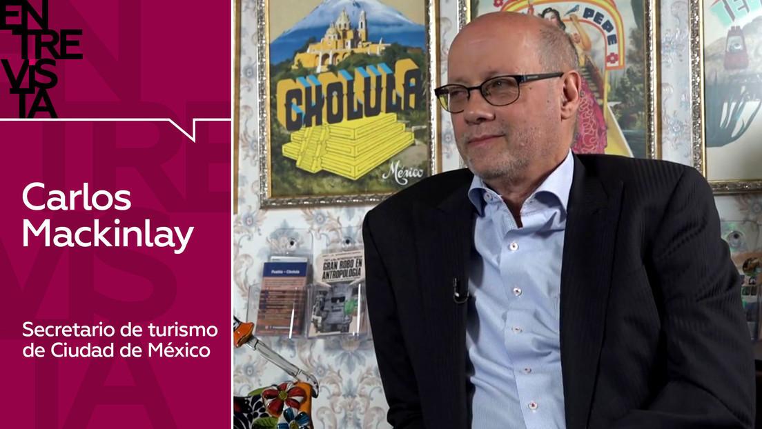 2020-11-03 - Carlos Mackinlay, secretario de turismo de Ciudad de México: