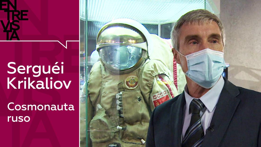 2020-11-10 - Serguéi Krikaliov, cosmonauta ruso:
