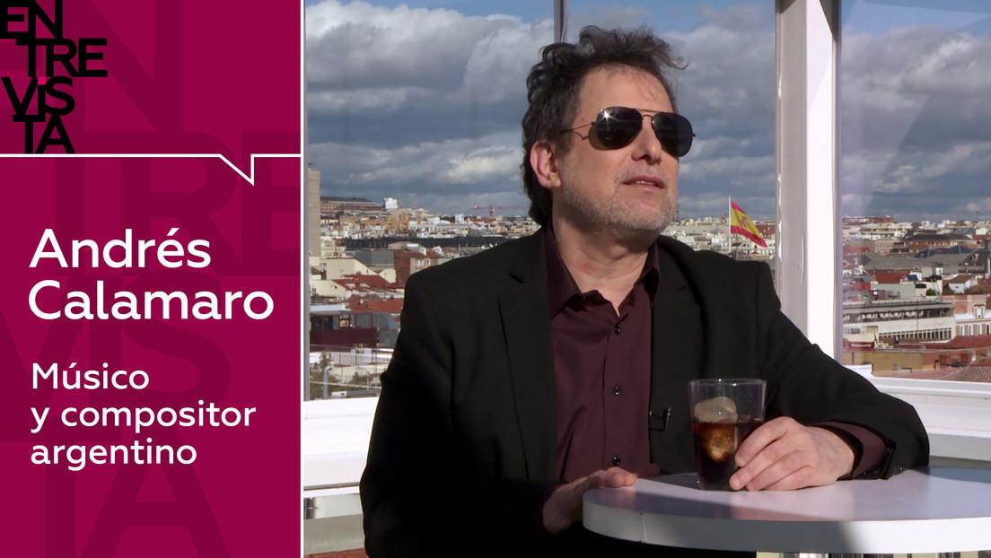 2020-11-24 - Andrés Calamaro, músico y compositor argentino: