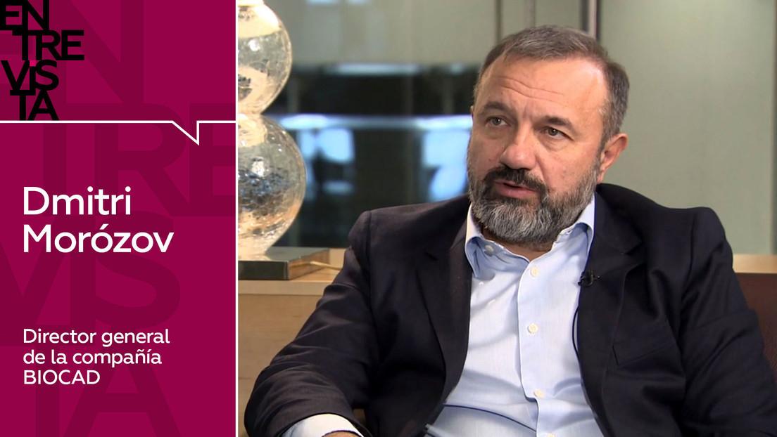 2020-12-05 - Dmitri Morózov, director general de BIOCAD: