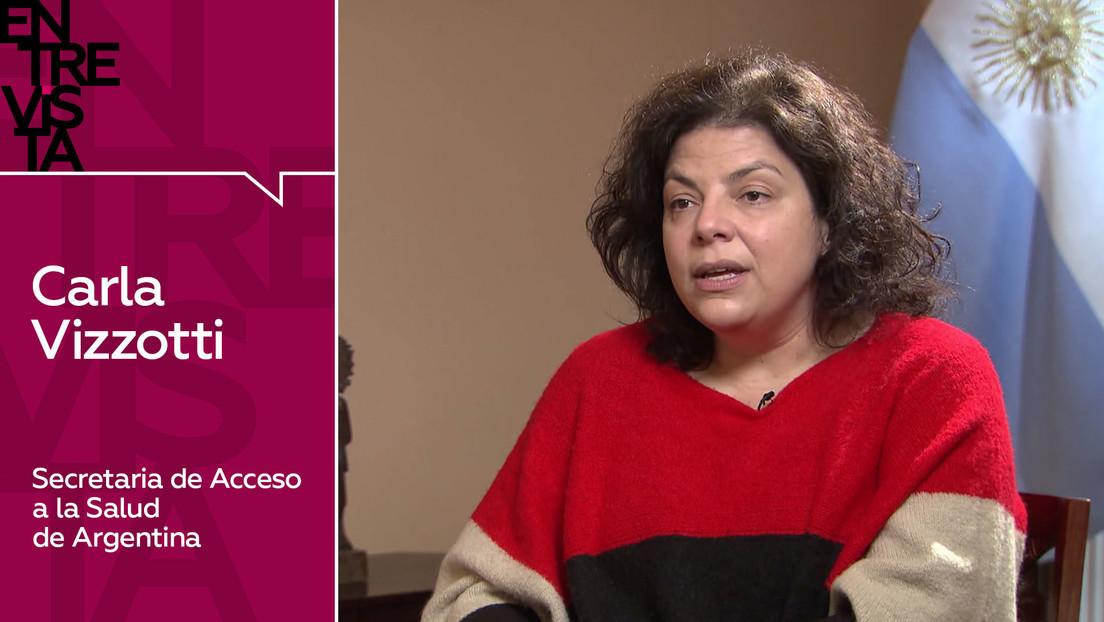 2020-12-18 - La secretaria de Acceso a la Salud de Argentina explica cómo será el proceso de traslado a Buenos Aires de la vacuna rusa Sputnik V