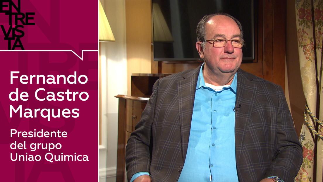 2021-01-18 - ¿Cuántas dosis de Sputnik V producirá Brasil? ¿A qué países se exportará?: Habla Fernando de Castro, presidente de la farmacéutica Uniao Química