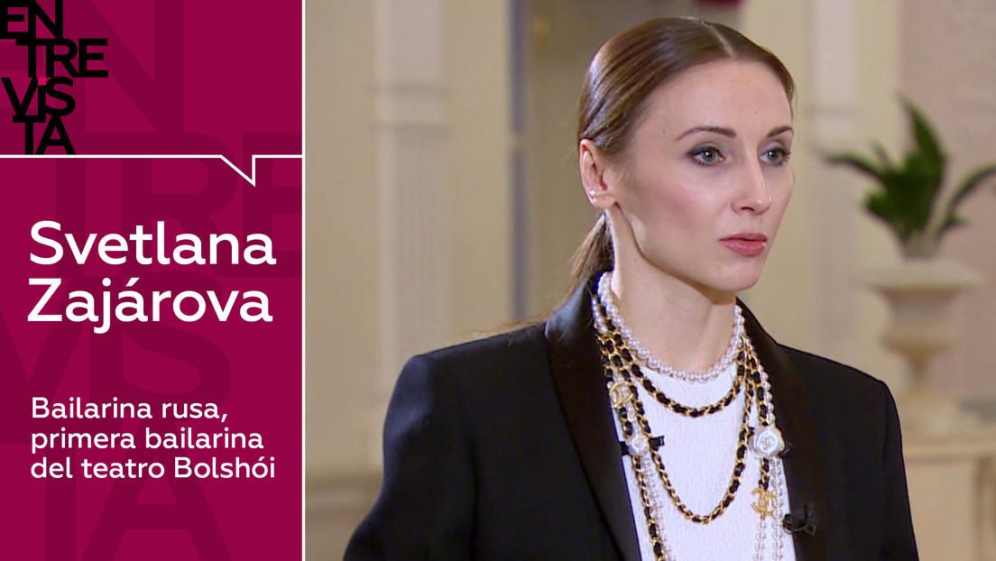 2021-01-19 - Svetlana Zajárova, primera bailarina del teatro Bolshói