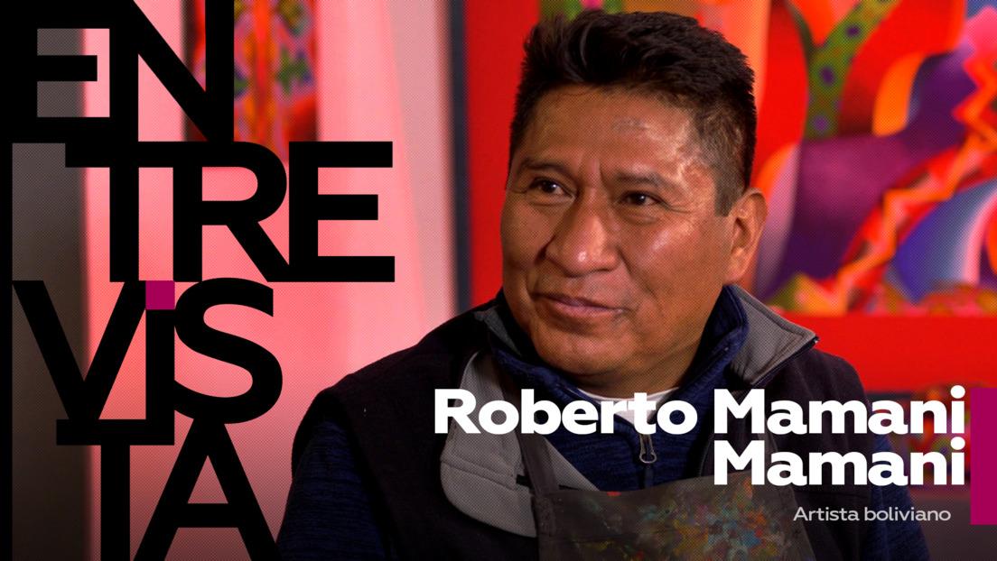 2021-02-15 - Roberto Mamani Mamani, artista boliviano: