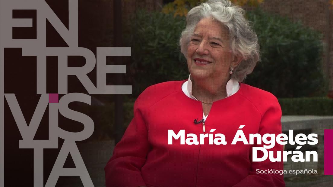 2021-02-23 - María Ángeles Durán, socióloga española: