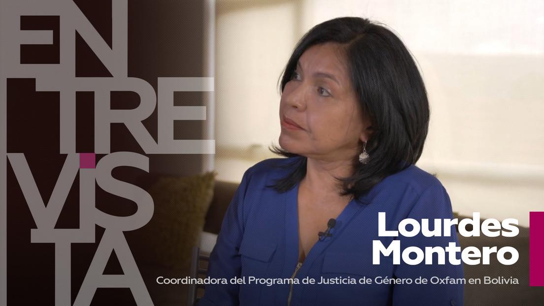 2021-03-08 - Lourdes Montero, coordinadora del Programa de Justicia de Género de Oxfam en Bolivia: