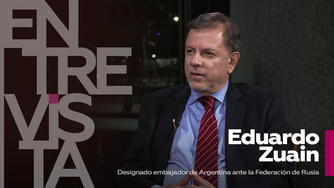 2021-03-18 - Eduardo Zuain, designado embajador de Argentina ante Rusia:
