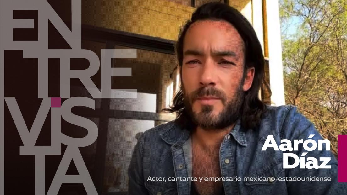 2021-04-06 - Aarón Díaz, actor, cantante y empresario mexicano-estadounidense: