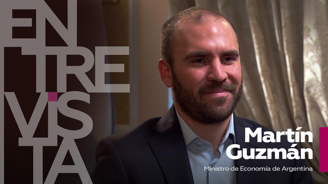 2021-04-26 - Martín Guzmán, ministro de Economía de Argentina: