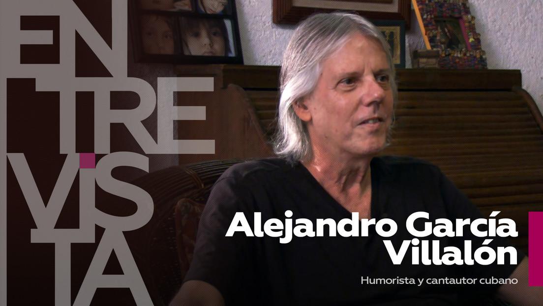 2021-05-17 - Alejandro García Villalón, humorista y cantautor cubano: