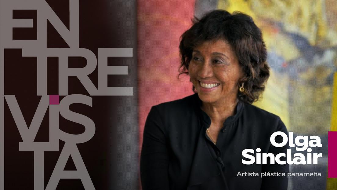 2021-06-14 - Olga Sinclair, artista plástica panameña: