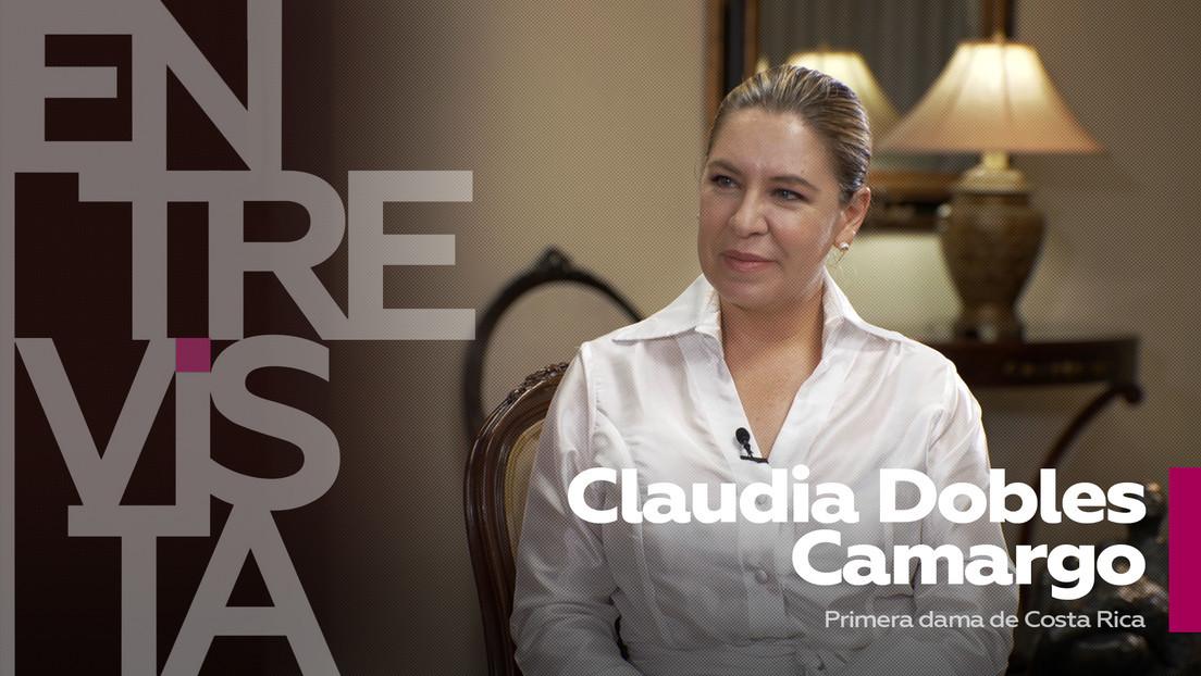 2021-06-28 - Claudia Dobles Camargo, primera dama de Costa Rica: