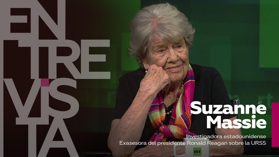 2021-10-05 - Suzanne Massie, exasesora del presidente Reagan: