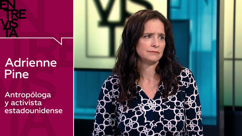 Adrienne Pine, activista sitiada en la Embajada de Venezuela en EE.UU.: