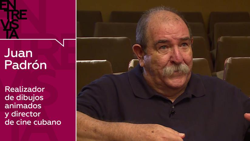 Caricaturista y cineasta cubano Juan Padrón: