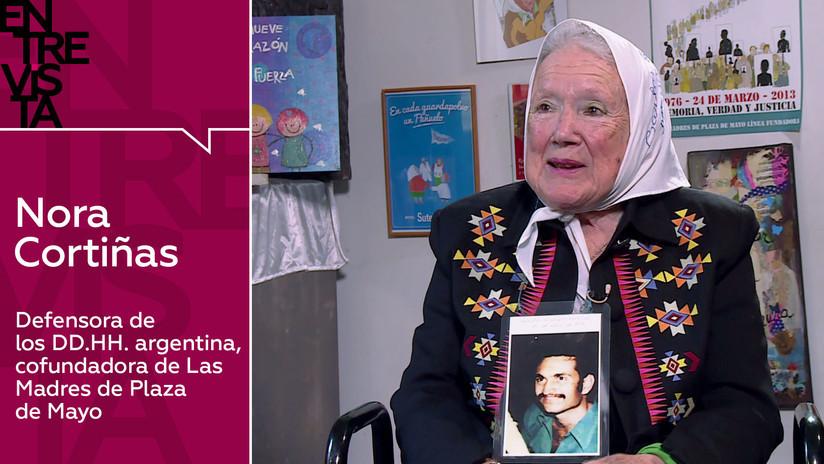 Nora Cortiñas, cofundadora de las Madres de Plaza de Mayo: