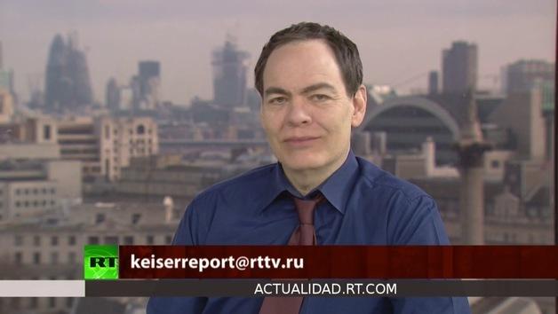 2013-01-15 - Keiser Report en español. Banqueros mafiosos que matan la economía (E393)