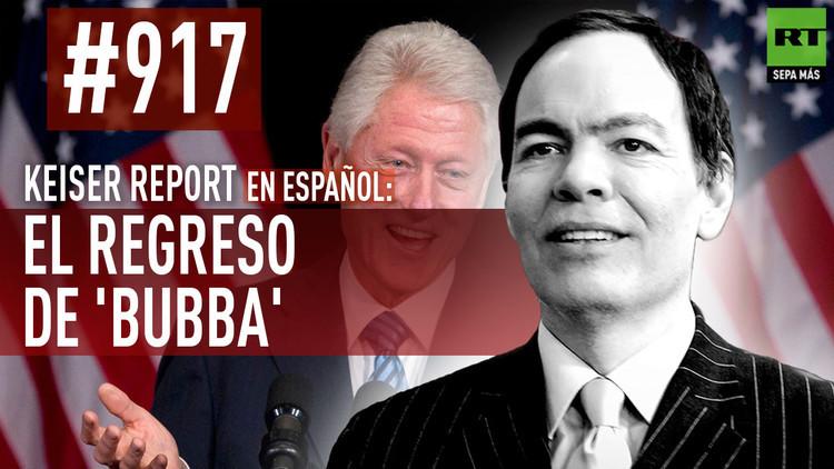 2016-05-21 - El regreso de Bill Clinton, ¿Una 'artimaña' de Hillary para enmendar su