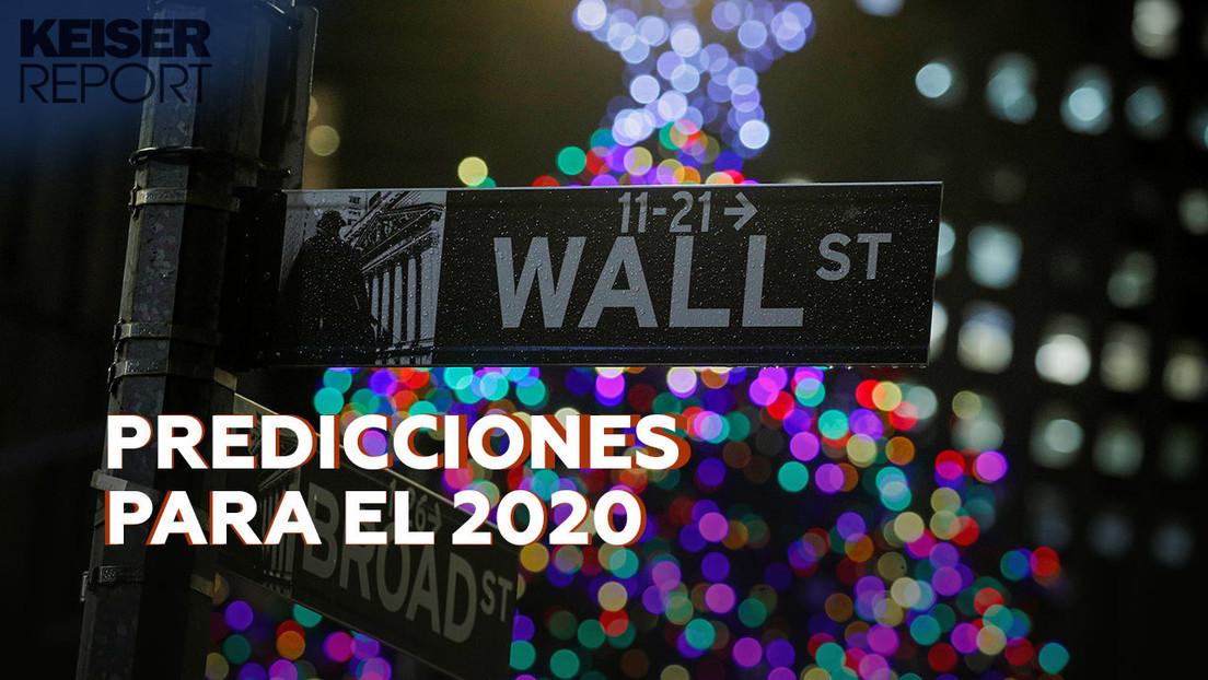 2019-12-31 - Insurrección global contra la ocupación bancaria, reelección de Trump : las predicciones de 'Keiser Report' para el 2020