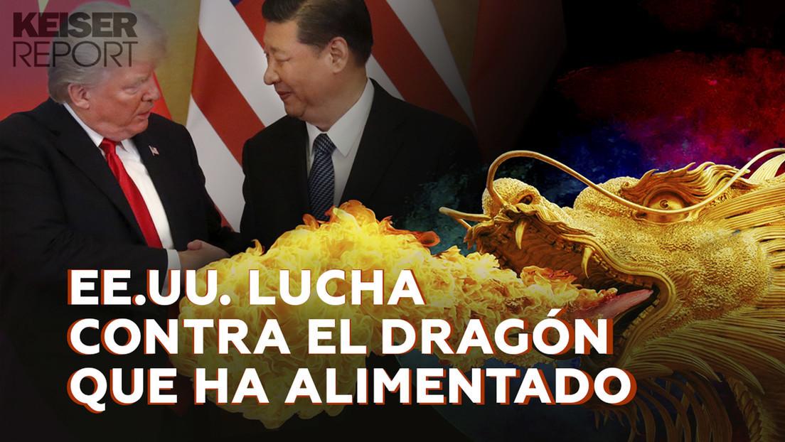 2020-08-06 - EE.UU. lucha contra el dragón que ha alimentado
