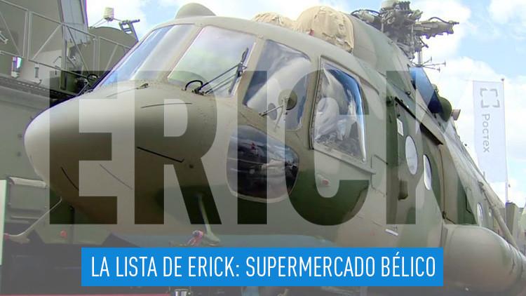 2016-09-30 - La lista de Erick: Supermercado Bélico