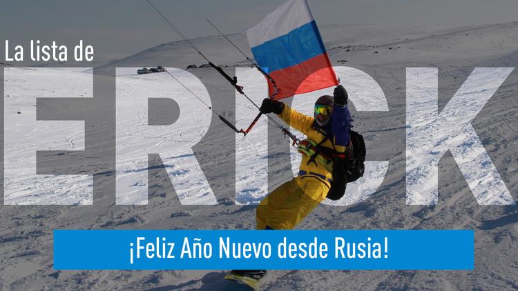 2016-12-30 - La lista de Erick. ¡Feliz Año Nuevo desde Rusia!