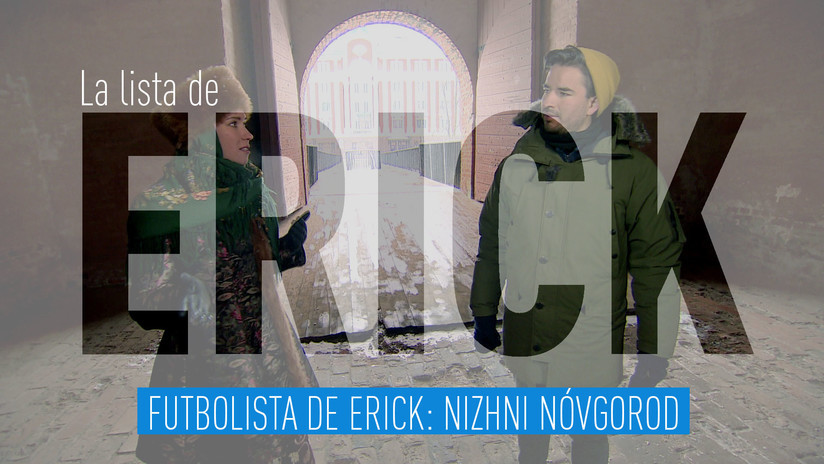 2018-03-30 - Futbolista de Erick: Nizhni Nóvgorod
