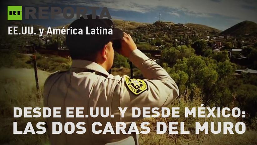 2017-12-16 - Desde EE.UU. y desde México: Las dos caras del muro