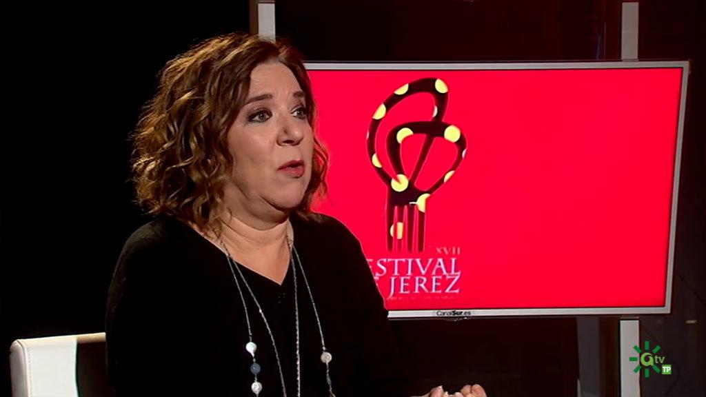 Isamay Benavente, directora del Festival de Jerez (23/02/2020)