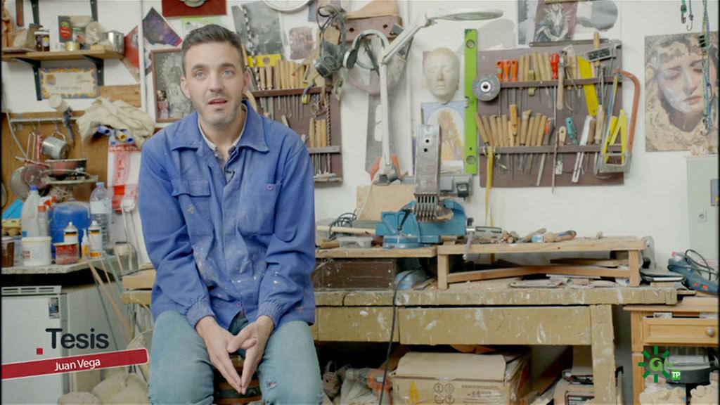 Juan Vega, escultor y Red Metanetwork (28/03/2020)
