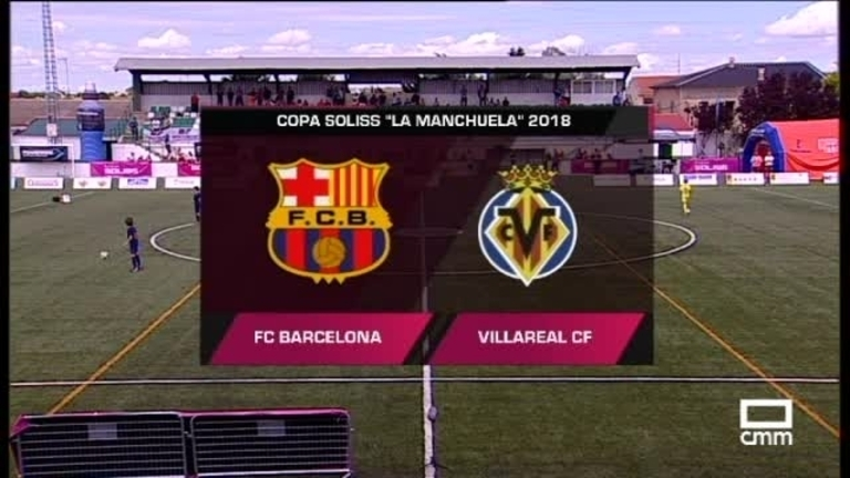 Final. FC Barcelona - Villarreal  10/06/2018
