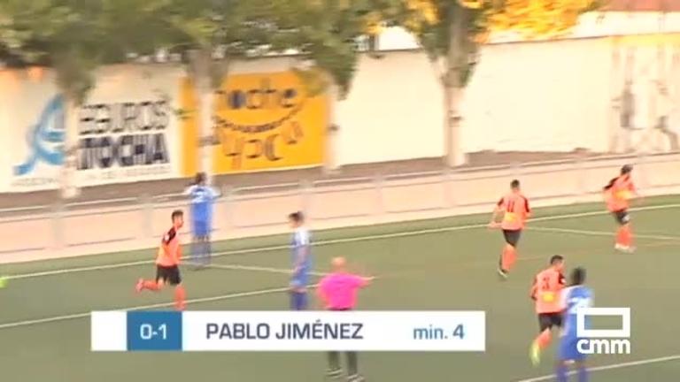 CD Madridejos - Villarrubia CF (2-2) 08/10/2018