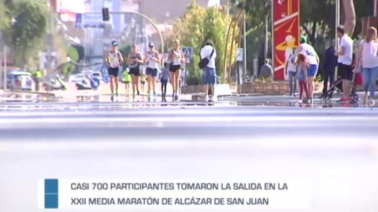 XXII Media maratón de Alcazar de San Juan  07/10/2018