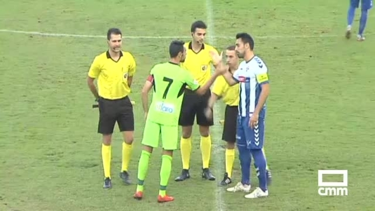 CF Talavera - CD Badajoz (4-0) 14/10/2018