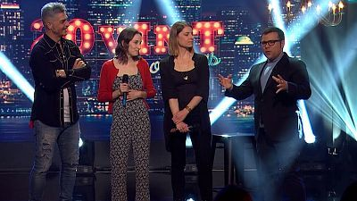 off | Irene Meneguzzi, Txabi Franquesa, Ana Polo, Toni Mata | RTVE Catalunya