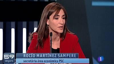 Descripcion La Secretria De Lrea Deconomia Del PSC Diputada Roco Martnez Sampere Ha Defensat Avui Al Programa 59 Segons Proposta Pacte