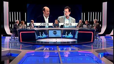 Especial Cara a Cara Rubalcaba Rajoy - 07/11/11