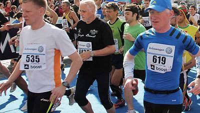 Maratón internacional de Praga
