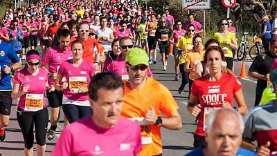Media maratón popular Illa Formentera