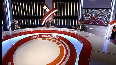 Celestino Corbacho del PSC i Pere Bosch d'ERC