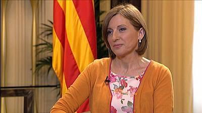 Entrevista a Carme Forcadell, presidenta del Parlament de Catalunya