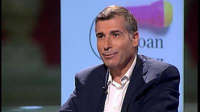 Joan López Alegre presenta el llibre 'Hablar de todo y no saber de nada: las tertulias como relato de la nueva política'
