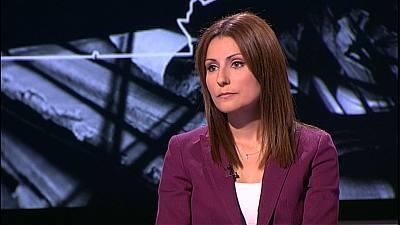 La diputada de Ciutadans, Lorena Roldán