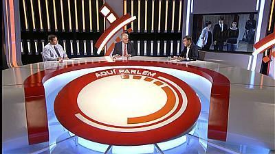 La qüestió de confiança al president Carles Puigdemont