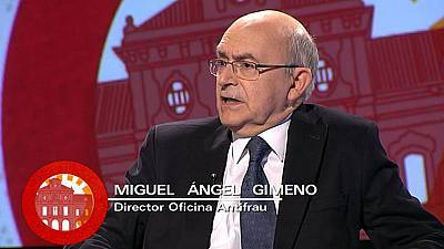 Miguel Ángel Gimeno, director de l'Oficina Antifrau