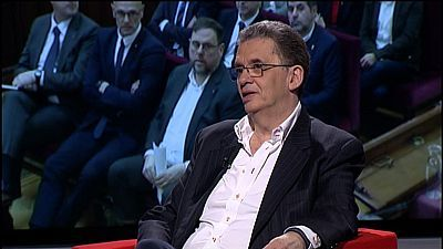 Santiago Tarín, periodista de La Vanguardia