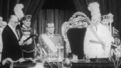 Don Juan Carlos de Borbón nombrado